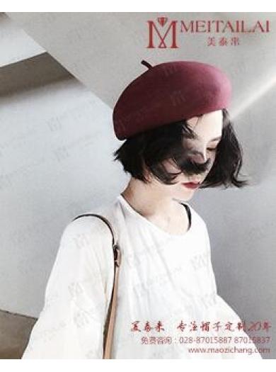 <b>成都帽子厂家解析羊毛定型帽是如何加工制作的?</b>